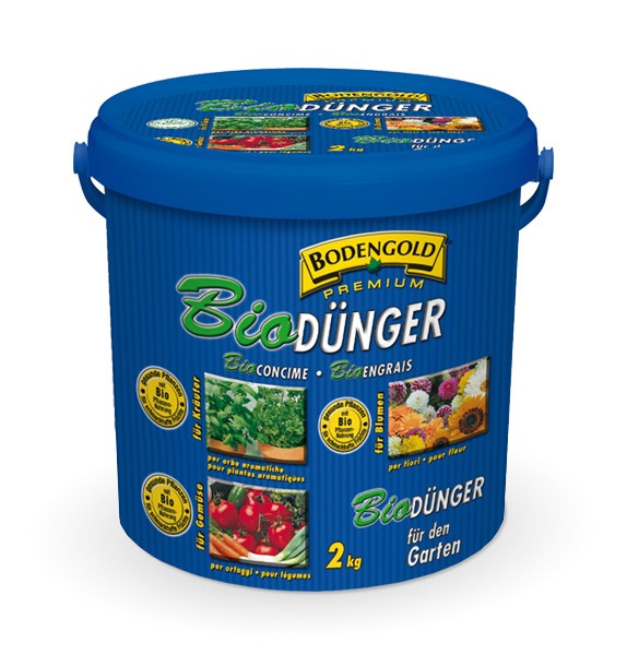 Bodengold Bio Garten Dünger 2 kg