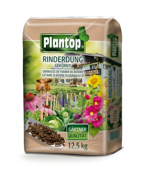 Plantop Bio Rinderdung gekörnt 12,5 Kg