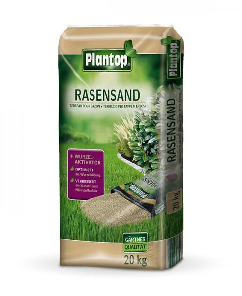 Plantop Rasensand mit Bodenaktivator