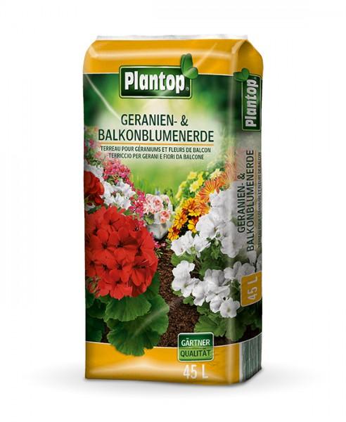 Plantop Geranienerde