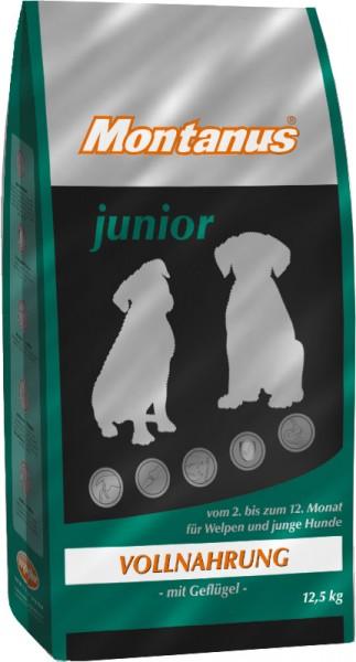 Montanus Hundefutter, Junior