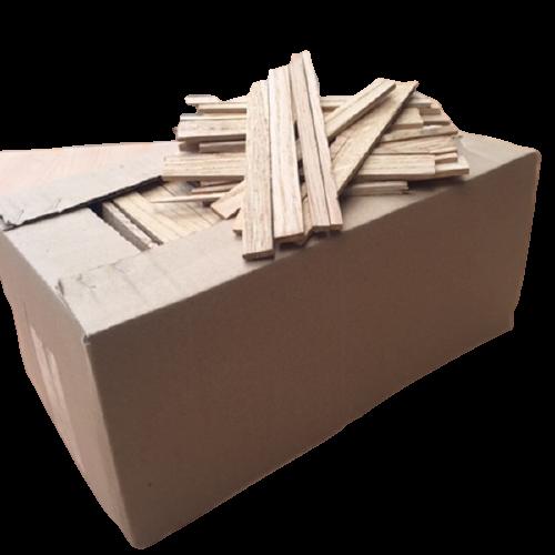 Anzündholz Eiche, 4kg Karton