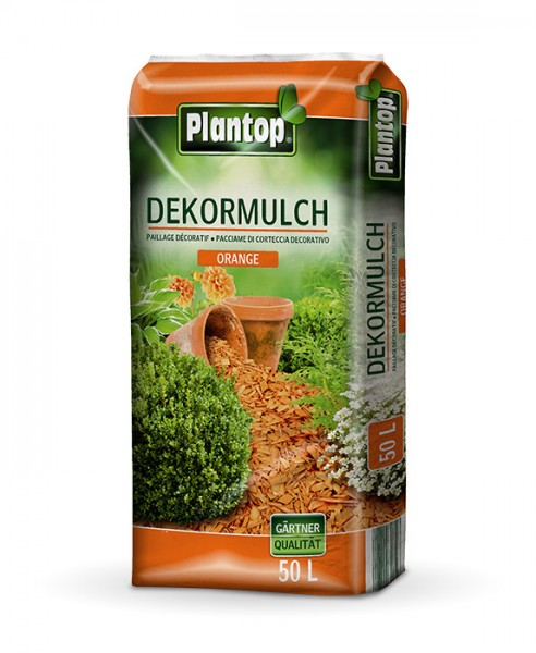Plantop Dekor-Mulch Orange