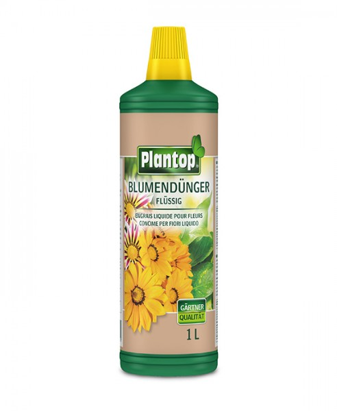 Plantop Blumendünger f. Zimmer u. Balkon, 1 L