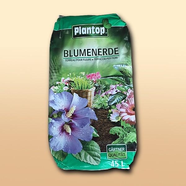 Plantop Blumenerde - Kultursubstrat 45 Liter
