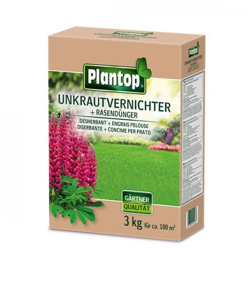 Plantop Unkrautvernichter + Rasendünger 3 kg
