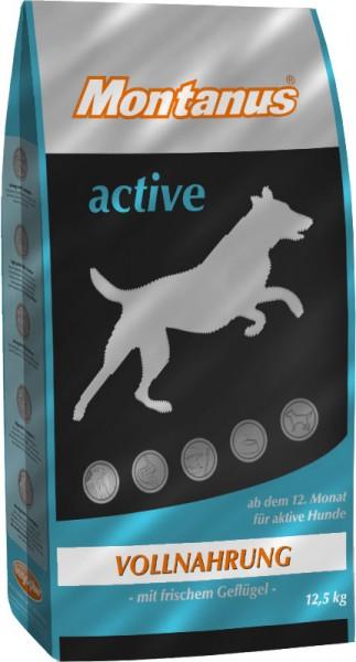 Montanus Hundefutter, Active