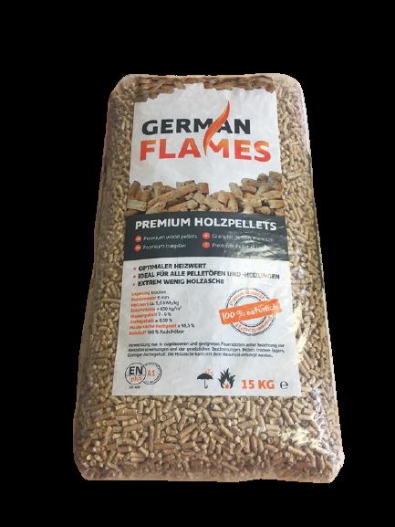 German Flames Pellets, EN A1 Plus